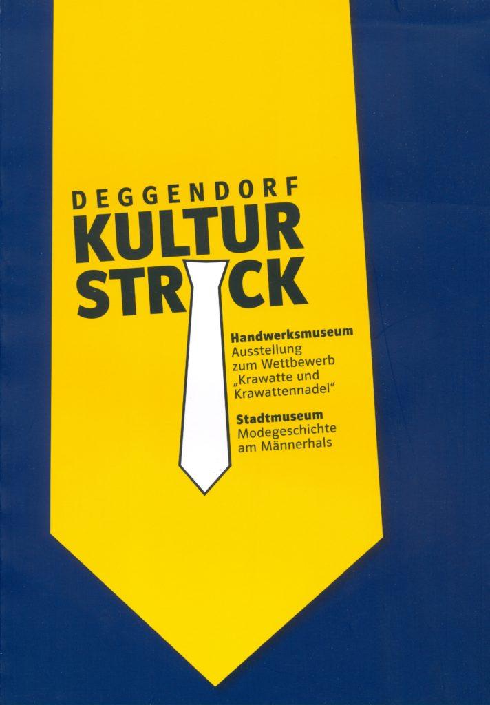 Museen Deggendorf - Publikation Kulturstrick Coverbild