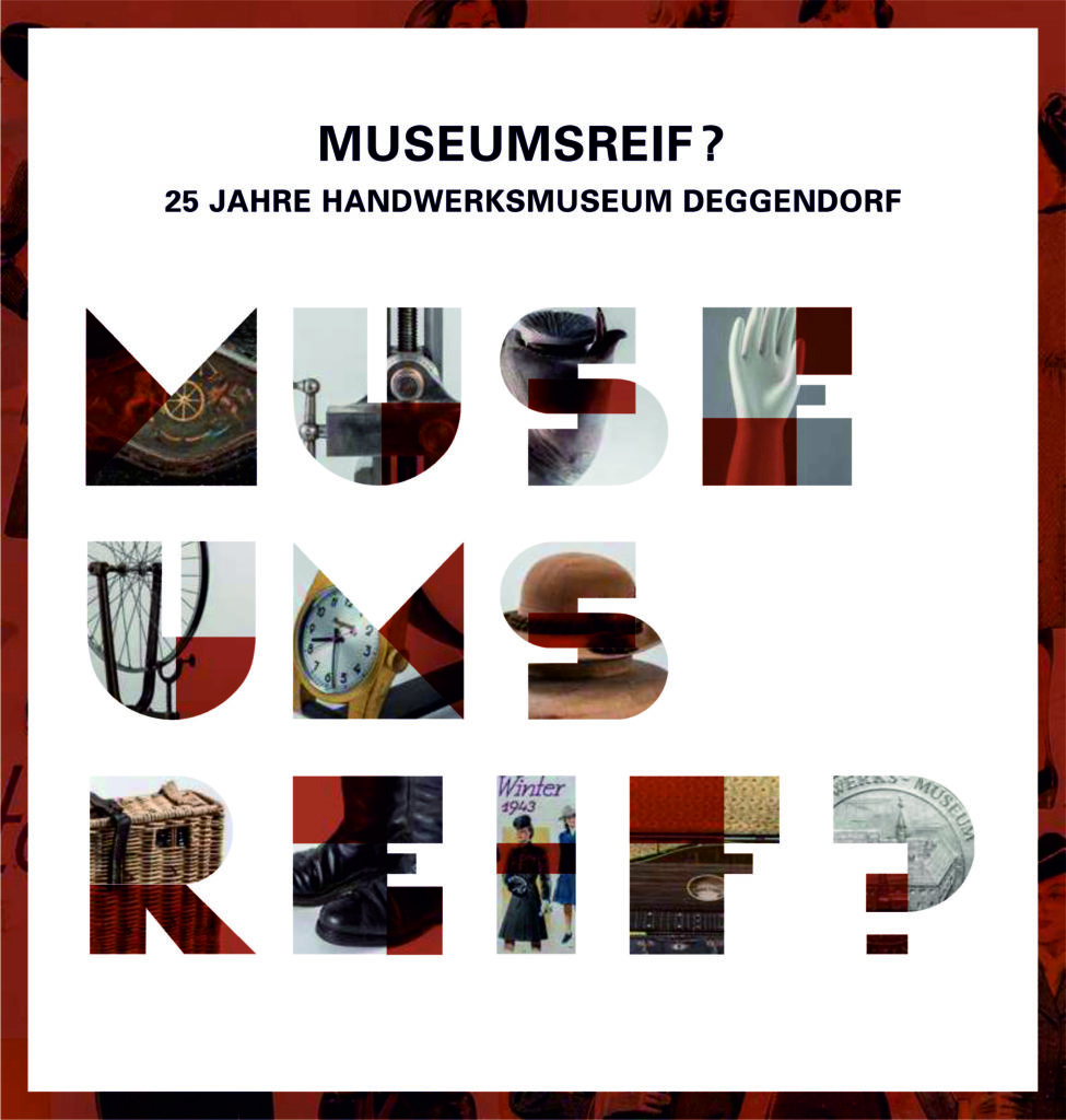 Museen Deggendorf - Publikation Museumsreif Coverbild