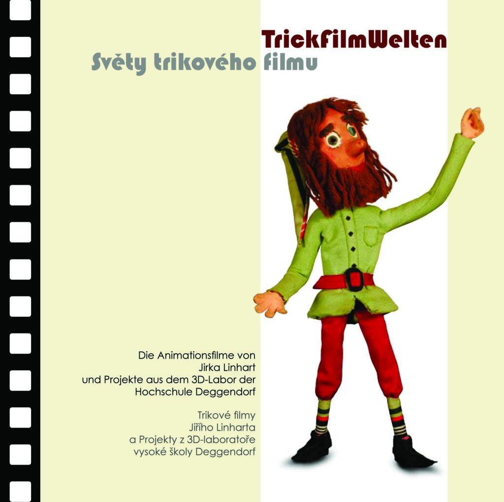 Museen Deggendorf - Publikation Trickfilmwelten Coverbild