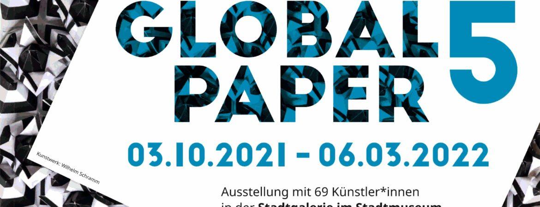 Logo der Internationalen Papierkunst Triennale