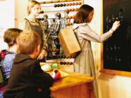 pädagogische Dauerausstellung - Als Hänschen noch zur Schule ging
