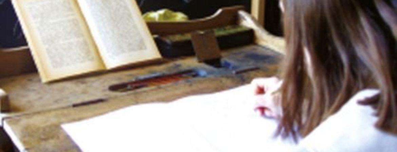 pädagogische Dauerausstellung - Mit Federkiel und Rußtinte
