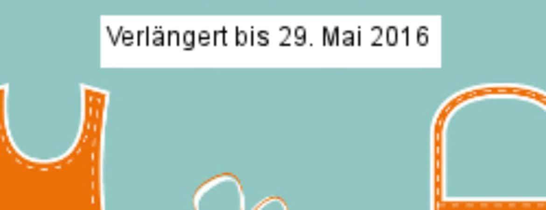 "PLakat der Sonderausstellung ""Angebandelt"" im Stadtmuseum Deggendorf"
