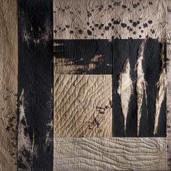Quilt-Art von Annemarie Zoller-Sicker im Stadtmuseum Deggendorf