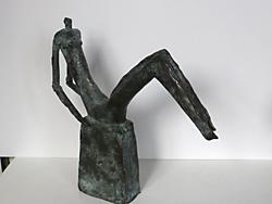 Ausstellungsstück von Gabi Hanner im Stadtmuseum Deggendorf