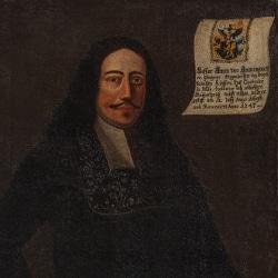 Hostorisches Gemälde von Caspar Aman im Stadtmuseum Deggendorf