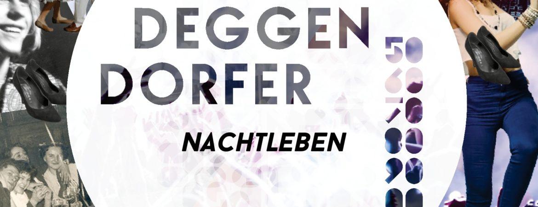 """Coverbild Publikation """"Deggendorfer Nachtleben"""" aus dem Stadtmuseum Deggendorf"""