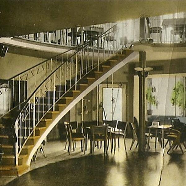 Bild aus einem historischem Lokal in Deggendorf aus der Ausstellung