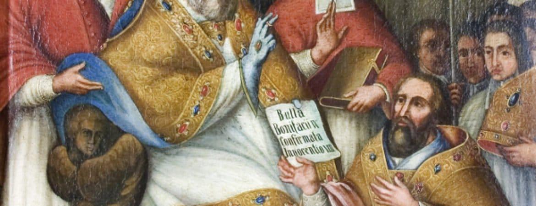 """Historisches Gemälde der Ablässe der Deggendorfer Grabkirche (""""Gnad Ablässe"""") im Stadtmuseum Deggendorf"""