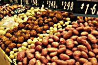 Kartoffeln aus