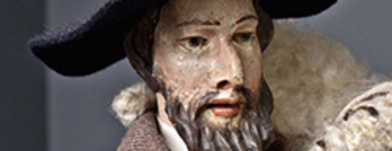 Kunstwerk aus der Barocken Jahreskrippe im Stadtmuseum Deggendorf