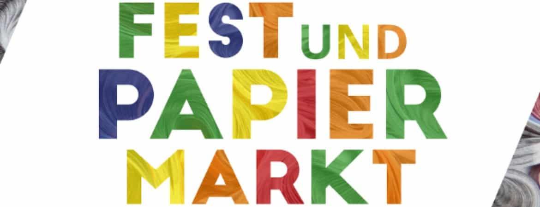 Logo Großes Papierfest und Papiermarkt im Stadtmuseum Deggendorf
