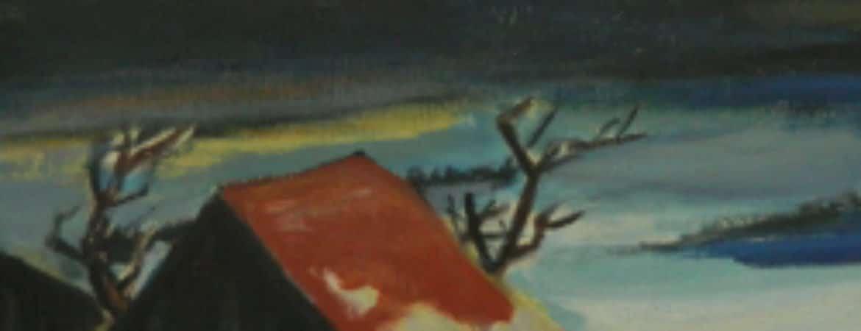 """Gemälde aus """"Ihr Herz aber schlägt dem Heute"""" im Stadtmuseum Deggendorf"""