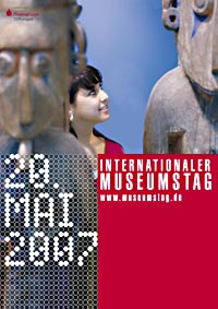PLakat des Internationalen Museumstag 2007 im Stadtmuseum Deggendorf