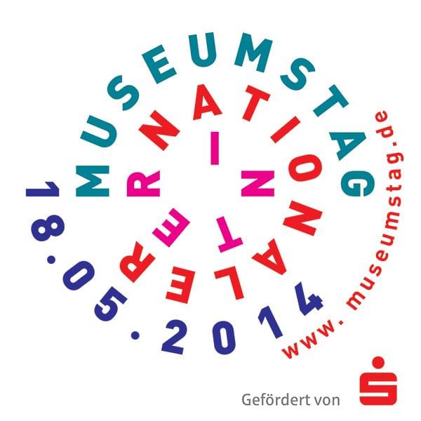 Plakat Internationaler Museumstag 2014 im Stadtmuseum Deggendorf