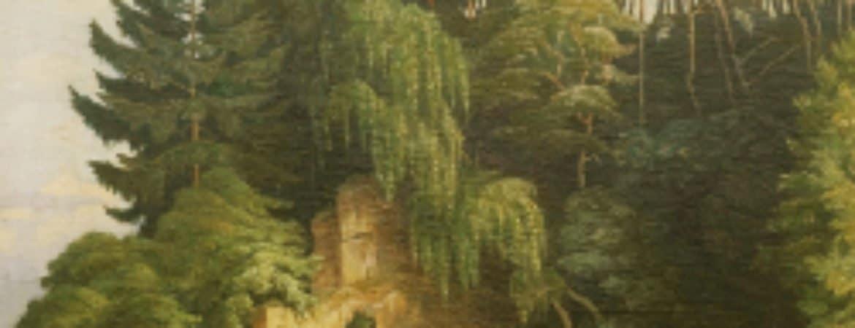 Bild vom Maler Karl Alexander Flügel im Stadtmuseum Deggendorf