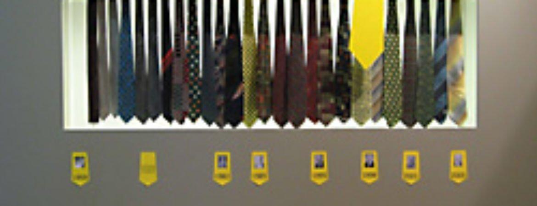 Krawattenversteigerung im Stadtmuseum Deggendorf