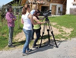 Filmpräsentation von Studenten der Medientechniker der HDU im Stadtmuseum Deggendorf