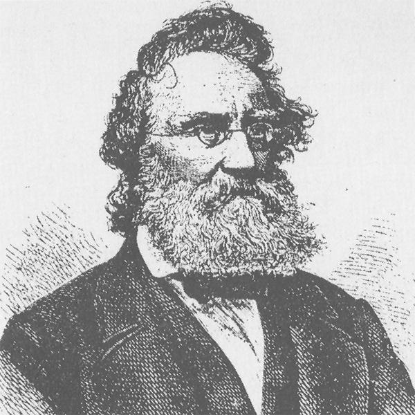 Bild aus dem Vortrag Ludwig Steub (1812-1888) und der