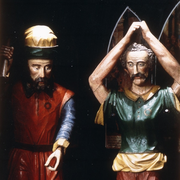 """Figuren mit """"Mirakelhostien"""" und """"Marterwerkzeuge"""" – die gegenständlichen Quellen der Deggendorfer Gnad im Stadtmuseum Deggendorf"""