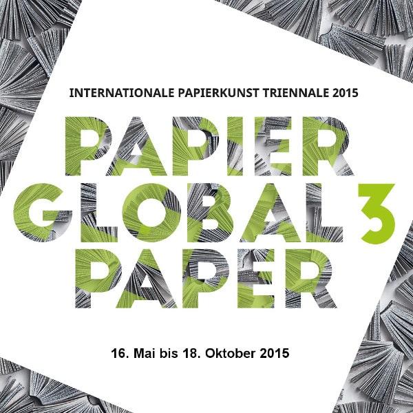 Logo Papier Global 3 im Stadtmuseum Deggendorf