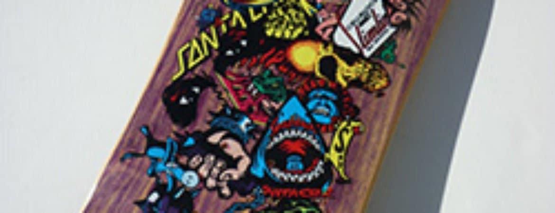 """Skateboard aus der Ausstellung """"Art on Board"""" im Stadtmuseum Deggendorf"""
