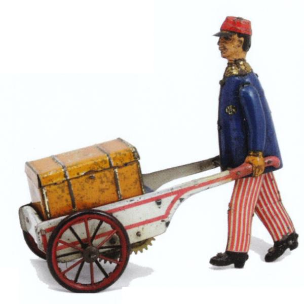 historisches Spielzeug aus der Ausstellung