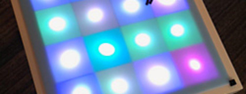 LED-Tisch aus der Werkschau Medientechnik im Stadtmuseum Deggendorf